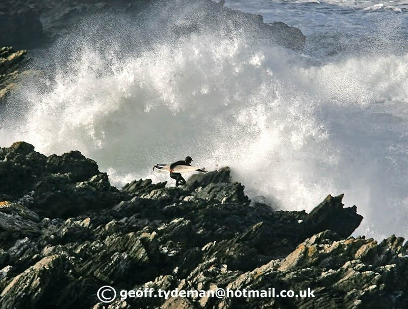 Geoff Tydeman's photo of Newquay - Fistral South