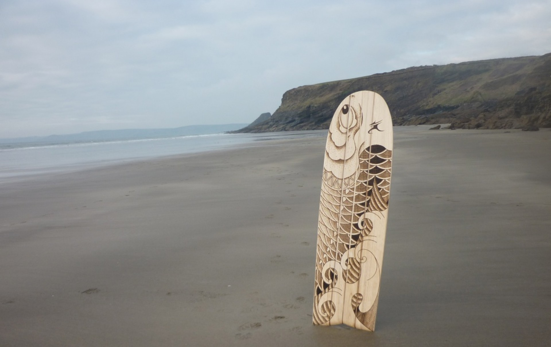Surf Art Wales's photo of Newgale