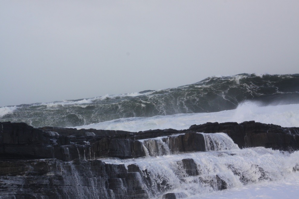 P Marchant's photo of Mullaghmore Head