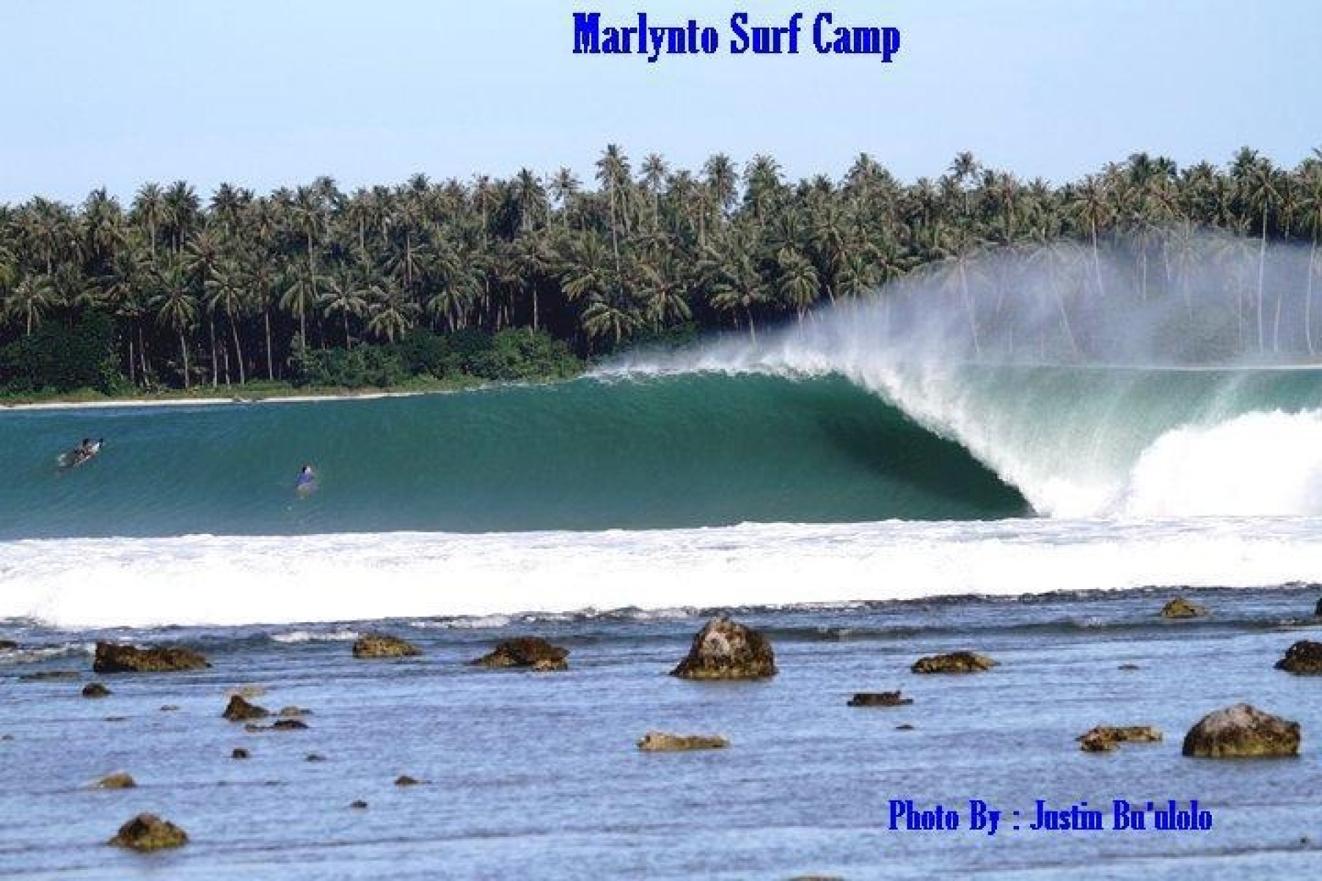 Marlynto Surf Camp's photo of Lagundri Bay - The Point