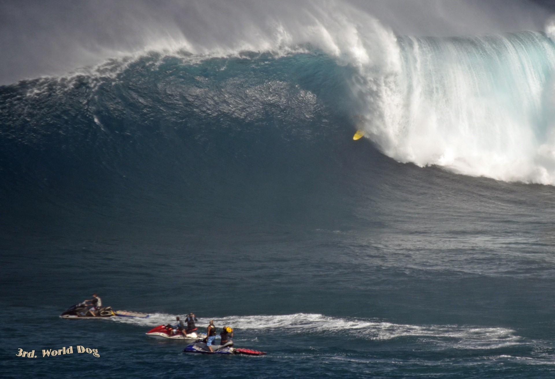 3rd World Dog's photo of Peahi - Jaws