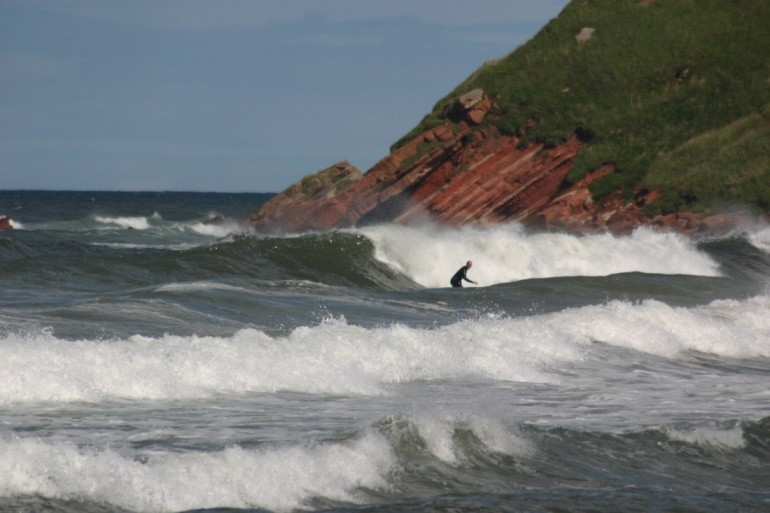 will king's photo of Pease Bay