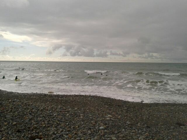 Clare Mayfield's photo of Hells Mouth (Porth Neigwl)