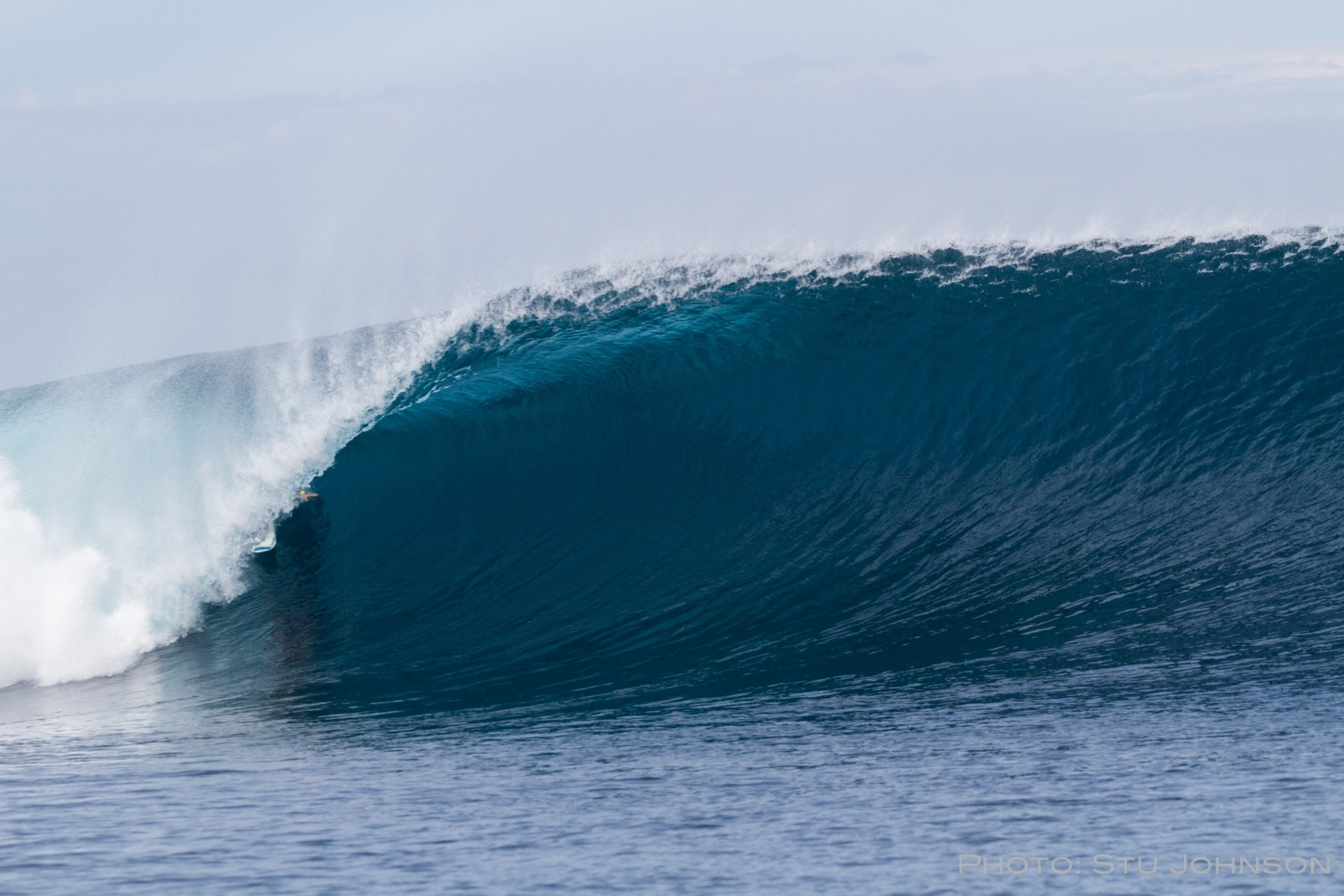 Stuart Johnson 's photo of Tavarua - Cloudbreak