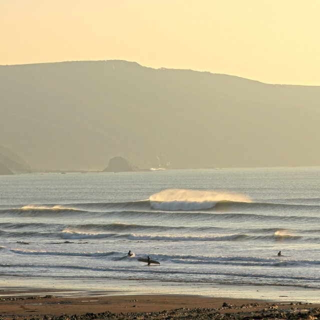 Magicseaweed Photo of the Day of Widemouth Bay