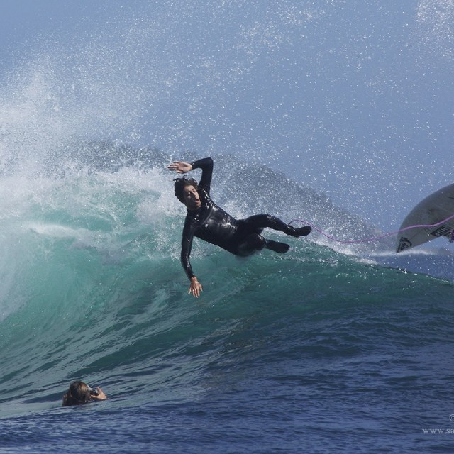 Magicseaweed Photo of the Day of Black Rock / Aussie Pipe