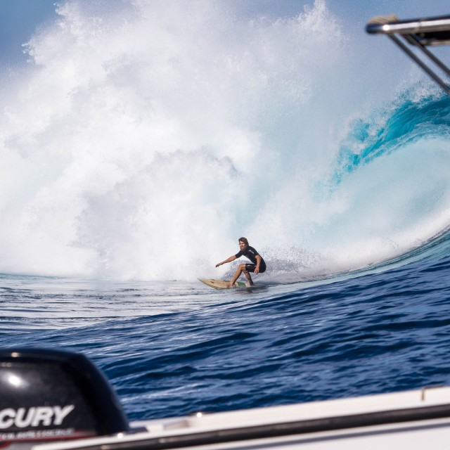 Magicseaweed Photo of the Day of Tavarua - Cloudbreak