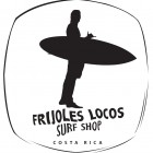 Frijoles Locos Surf Shop & School Logo