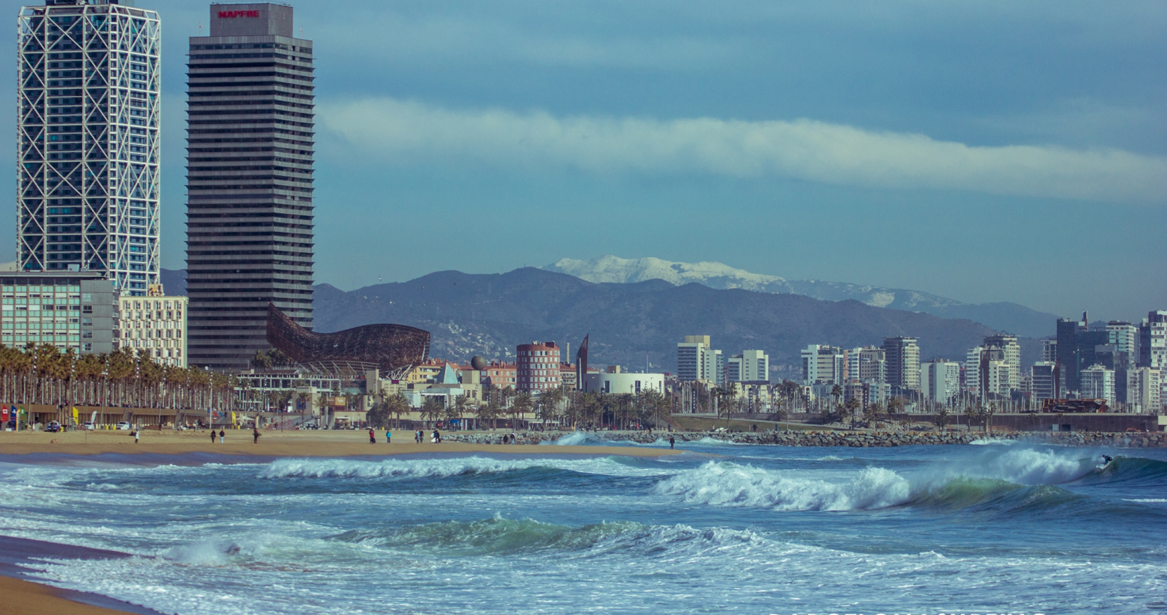 Waves In The City Barcelona Gets Its Fill