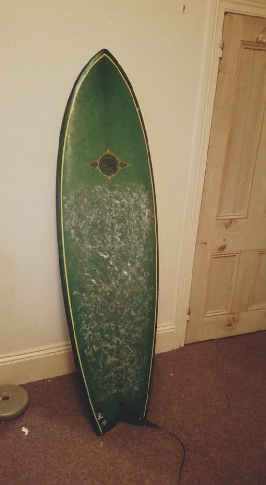 For sale twin fin fish surfboard shortboard for Fish surfboard for sale