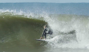 Kolohe Andino on a New Four Channel, Small Wave Whip