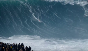 WATCH: 'Big Wednesday' at Nazare