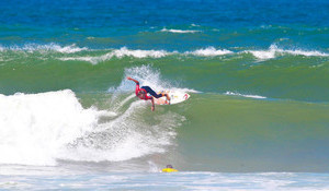 Miguel Blanco Shines on Day one of Quiksilver & Roxy Pro Casablanca