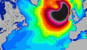 UPDATE: Potential Record Breaking Swell is About to Devour Europe