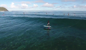 Have You Ever Seen Laird Hamilton Cruising on a SUP Foil?