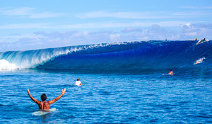 GALLERY: Locals First Taste of Post-Lockdown Freedom At Teahupoo