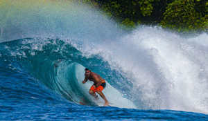 Scoring Near Perfect Mentawais with Sancho