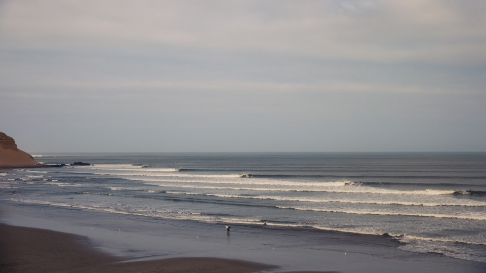 Chicama, Peru.There are plenty of quality lefthand pointbreaks out there, yet they are routinely ignored by ASP.