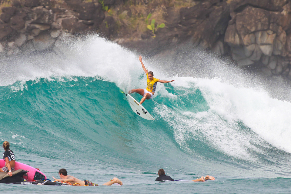 Honolua Bay is one of Steph's favourite waves.