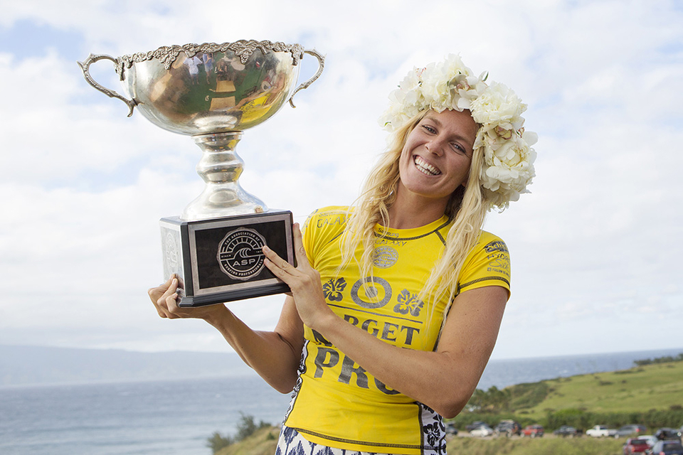 The WSL would be a lesser place without this smile.