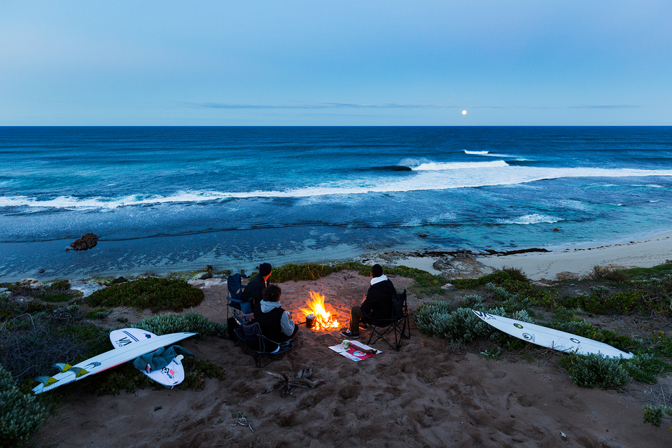 Grab a couple of pals, hit the coast, surf all day, crack a few chillers and talk story.