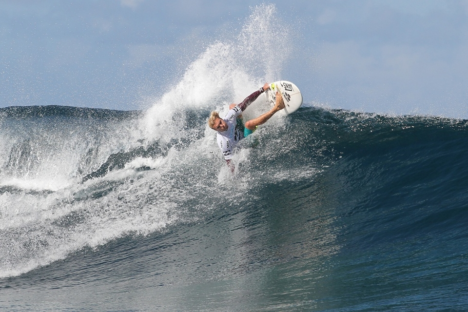 Tanner Gudauskas right on the cusp prior to losing and having to pack his bags for the final time said,