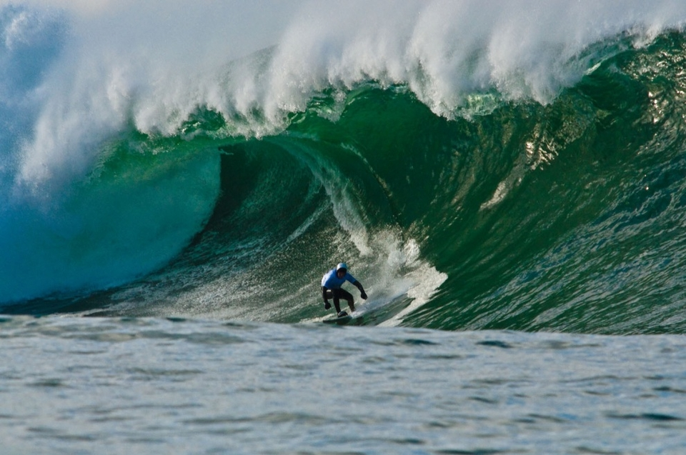 The stir-crazy wipeout of the day went to Gabe's partner and Mully pioneer Ritchie Fitzgerald.