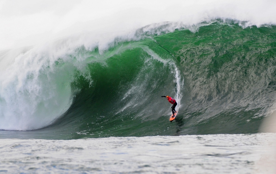 So how come it's taken so long to hold a big wave comp in Ireland?