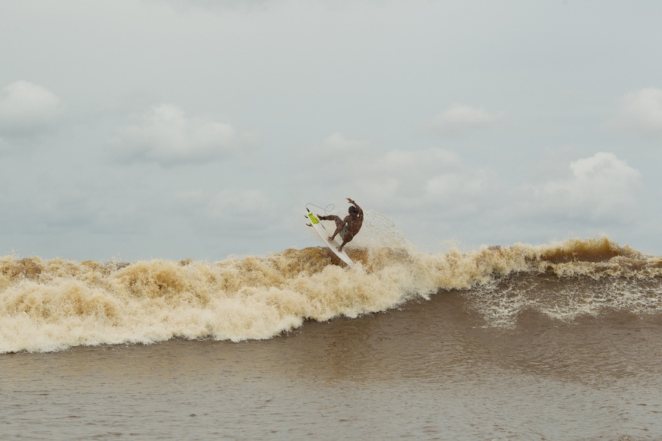 This trip undoubtedly provided the best river bore surfing to ever be captured on film, including the first legit barrel and legit landed aerial?    We're not 100 percent sure but we're pretty sure we've never seen one landed on the Severn Bore.    Rip Curl have done a couple of other edits which you can see  here .