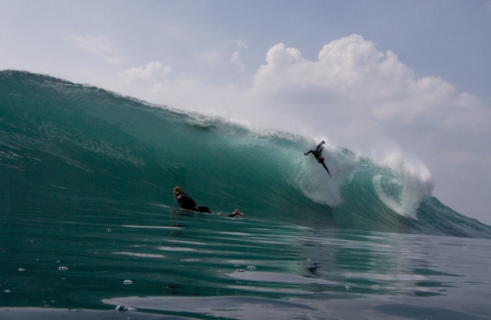 DARK times ahead for Crab Island and Doolin Point, one of Ireland's most perfect waves, unless action is taken now.     Despite opposition and a  previous campaign  Clare County Council have granted planning permission for a pier development which will in the report's own words