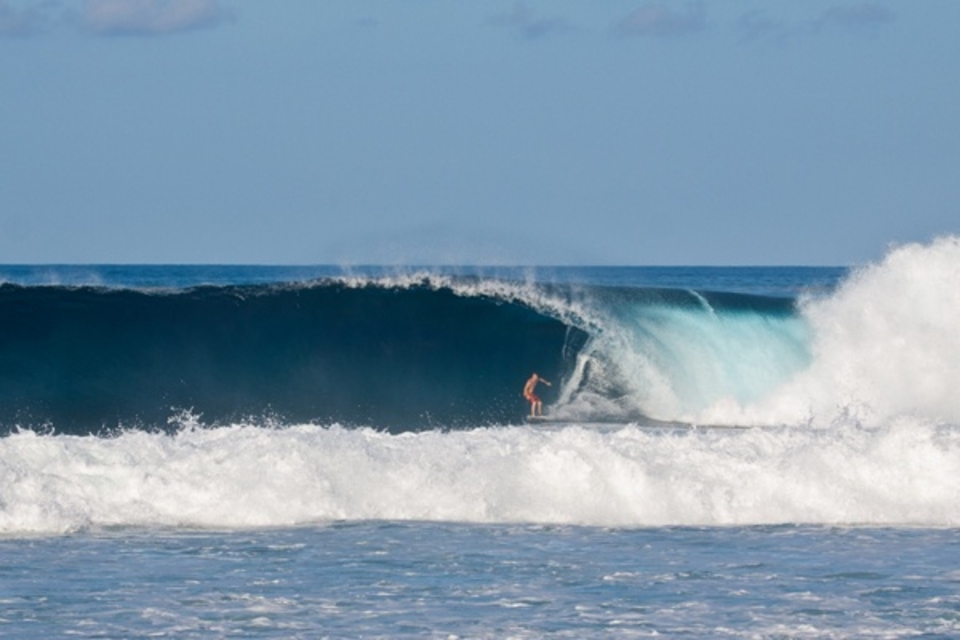Katia swell hitting Barbabos ... Yesterday