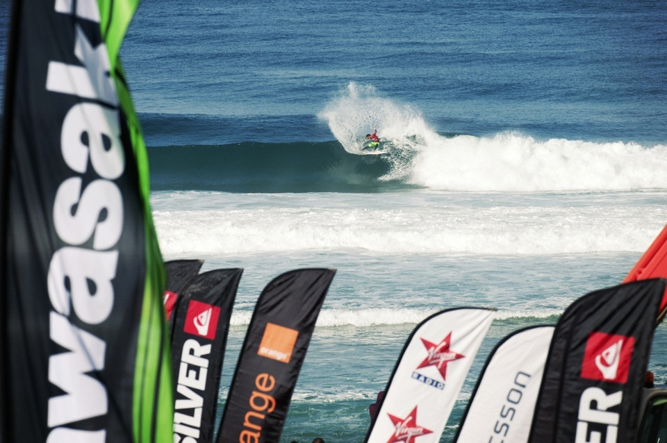 Michel Bourez is back, well he never went anywhere, just a bit quieter. When he's on form, like now, his surfing is scary slashing up the surf like an irritable Samurai.