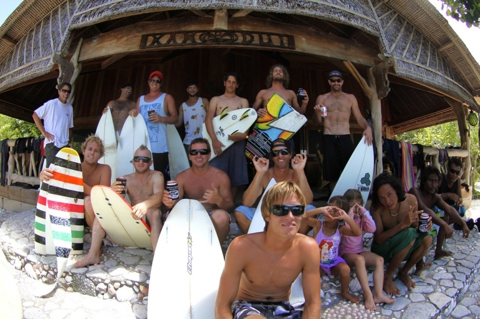 Kandui Left's swell of the season leaves behind 10 broken boards, a healthy amount of reef rash and numerous claims of