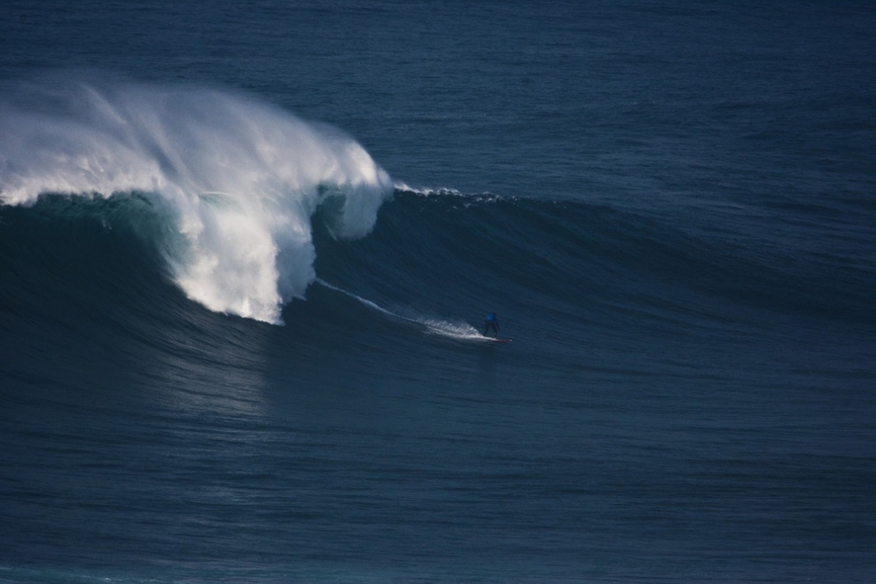 CJ Macias caught the biggest waves of his life during this three day swell. From 2 foot Florida to 40ft Praia do Norte.
