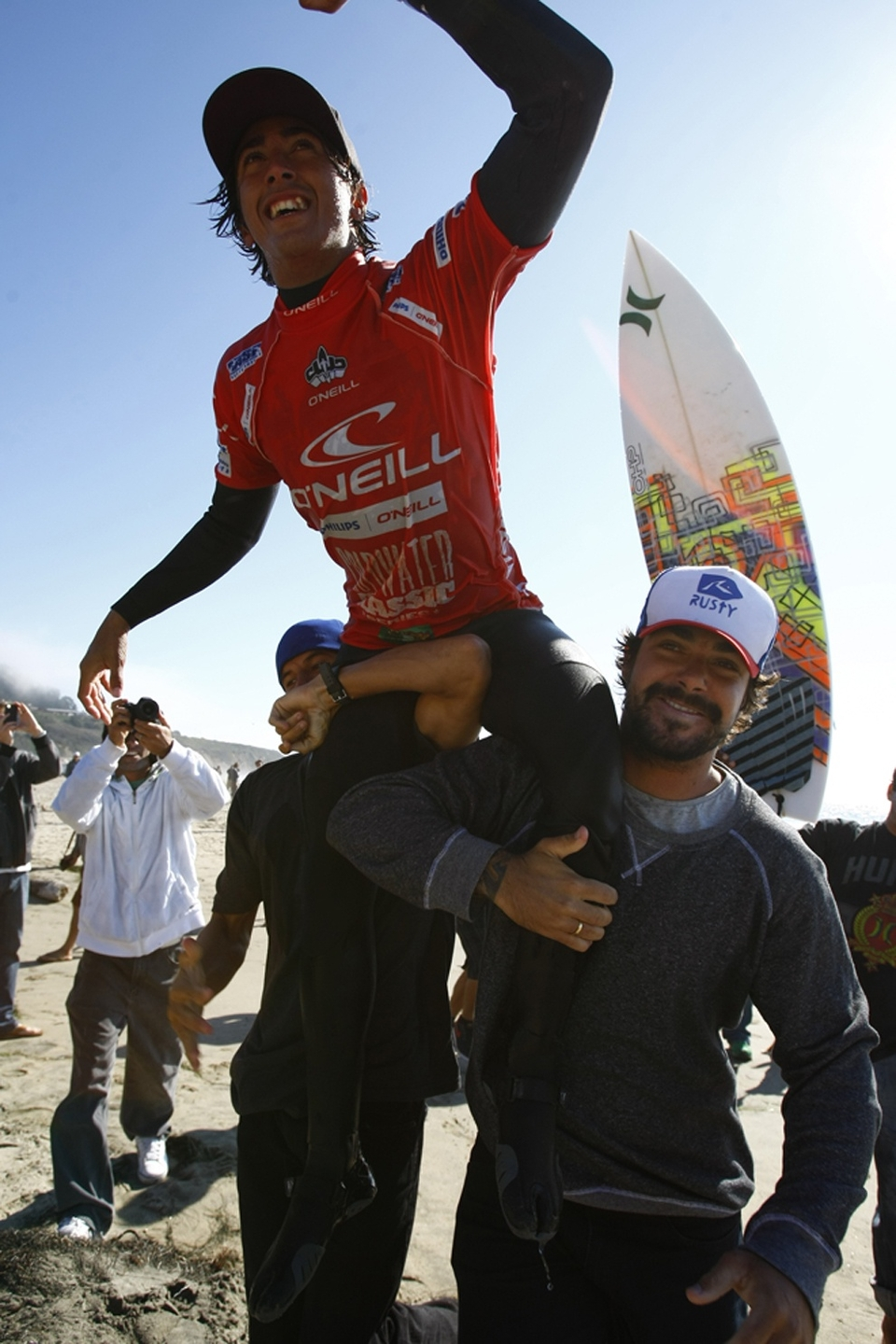 Miguel Pupo has won the O'Neill  Cold Water Classic  Santa Cruz as well as the O'Neill Cold Water Classic Series 2011, walking away with a total of $90,000 prize money at this ASP Prime Event.