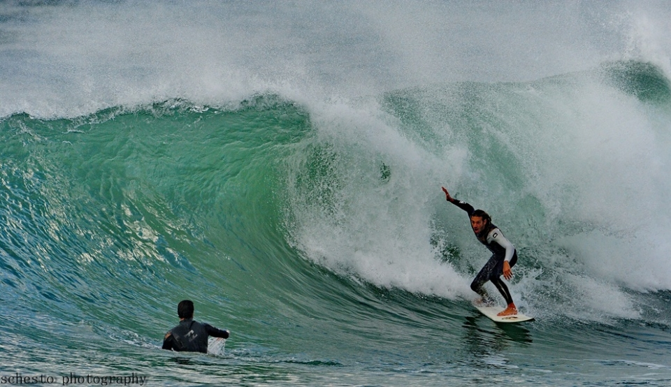 Orr Brodny, a standout every time the Backdoor gets big on a Med screamer.