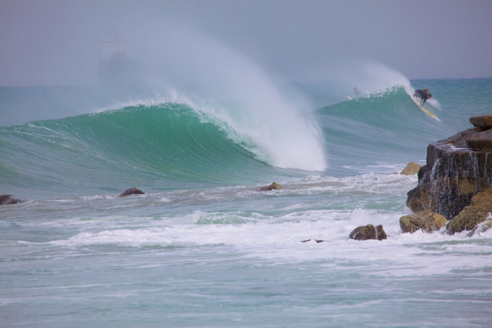 Backdoor, Haifa, 3-4ft and as tempting as anywhere.