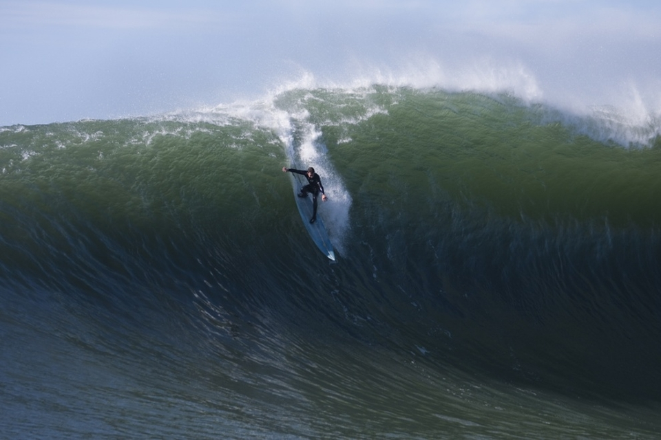 Matt Lopez, centred and poised, putting himself in with the best chance of pulling it off.
