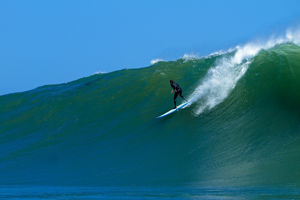 Dave Smith making it look easy on his 9'0.