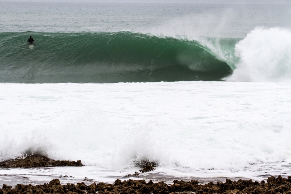 Ericeira on the brink of a gasp.