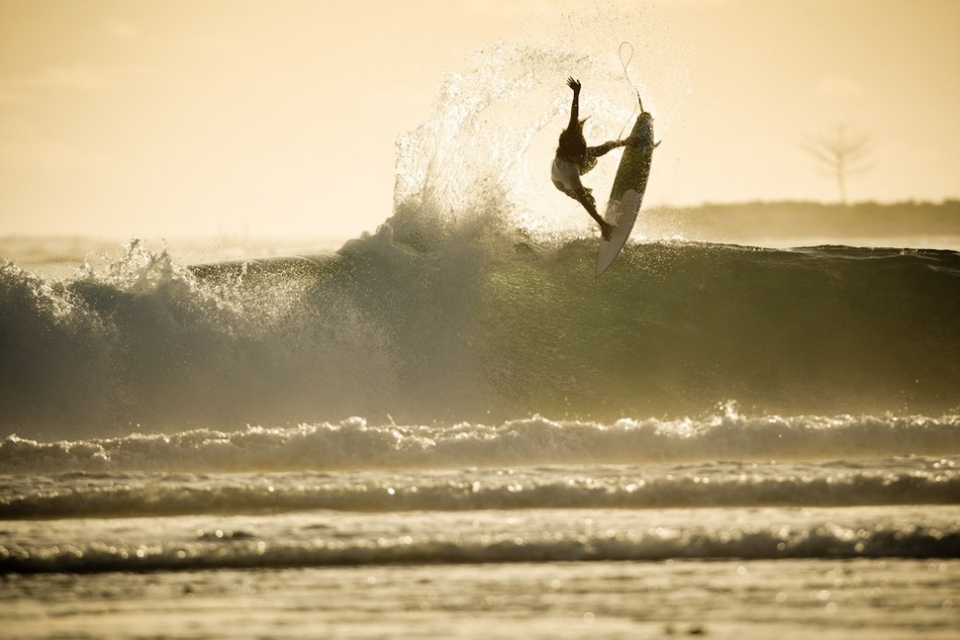Adrien Toyon and a golden arvo at Macas.