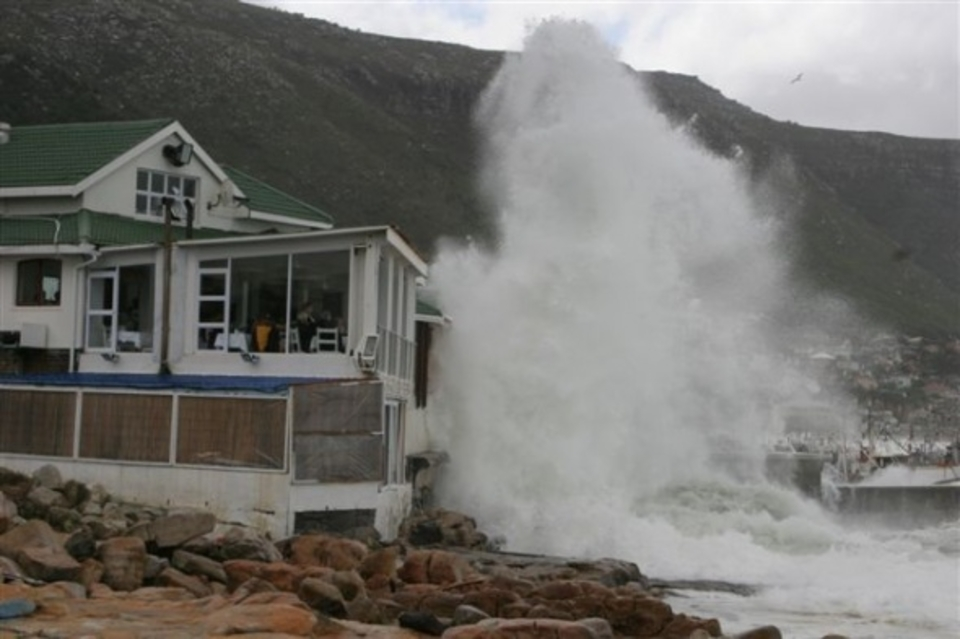 Destruction of the local eatery