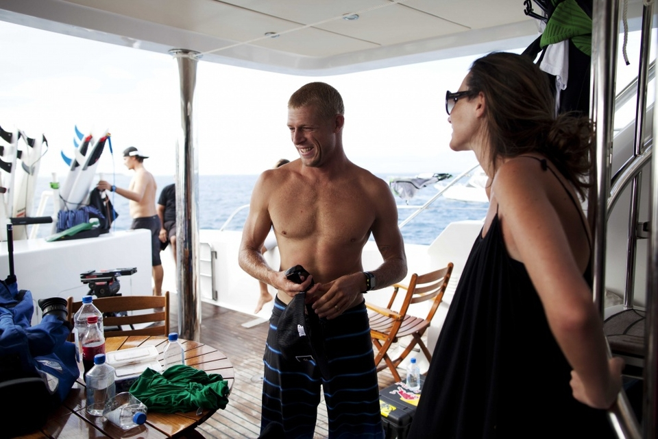 Mick Fanning made it to semis where he lost out to a resurgent Gabby Medina. He now tops the World Tour leaderboard, 1000 points ahead of Kelly Slater and Parko, which is probably why he's not too upset.