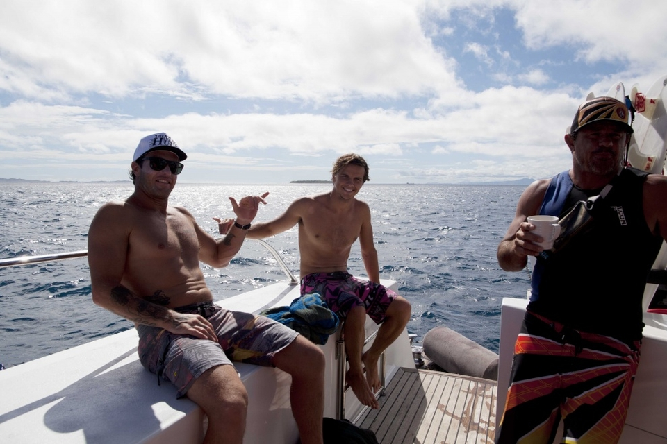 Julian Wilson and Kaiborg.