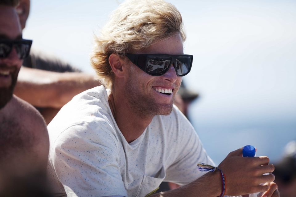 Pat Gudauskas, fresh faced and willing to commit in the heavy stuff.