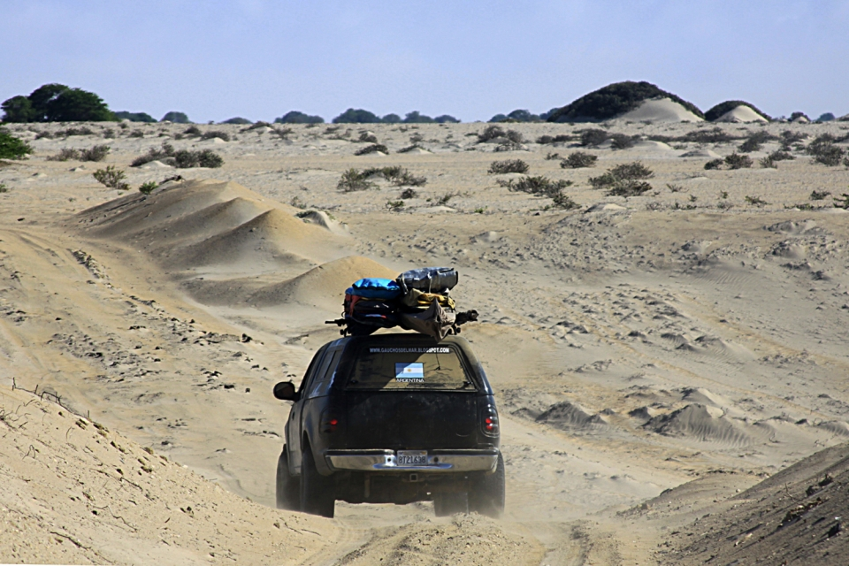 Exploring and offroading in the arid and inhabited Peruvian desert.  We found several lefts with only the company of sea lions, sea gulls and pelicans.