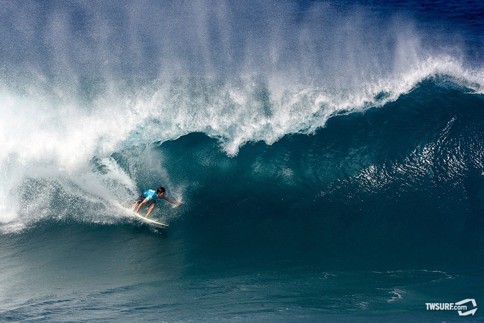 9th place finisher Bruce Irons.