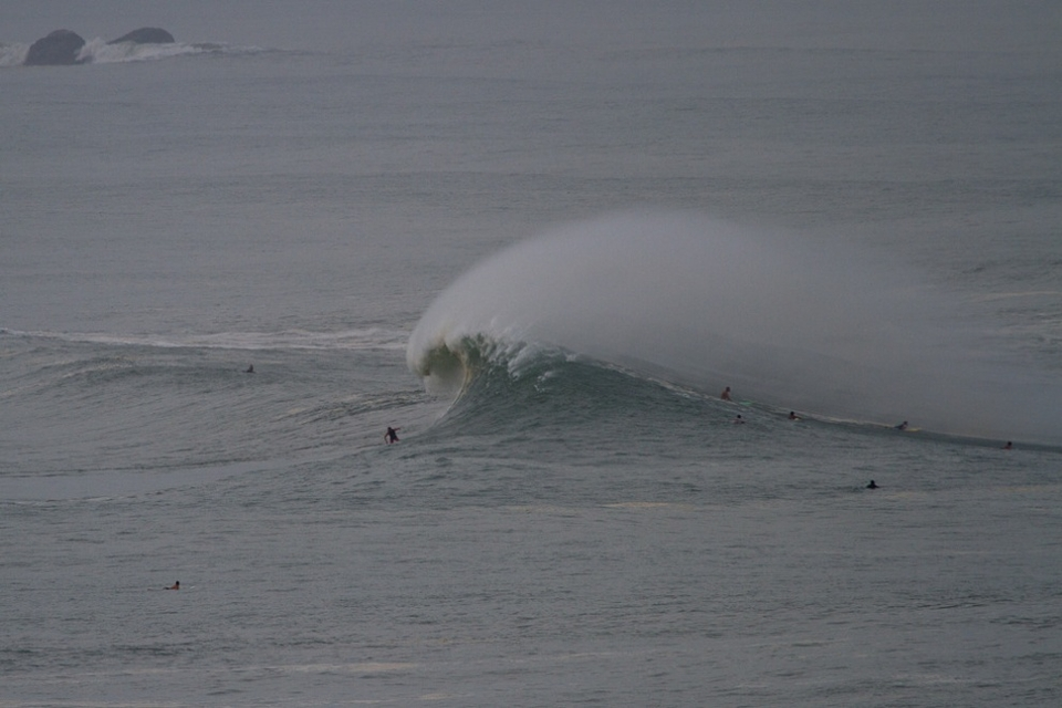 Doing a reasonable impression of Mavericks for Spencer Pirdy.