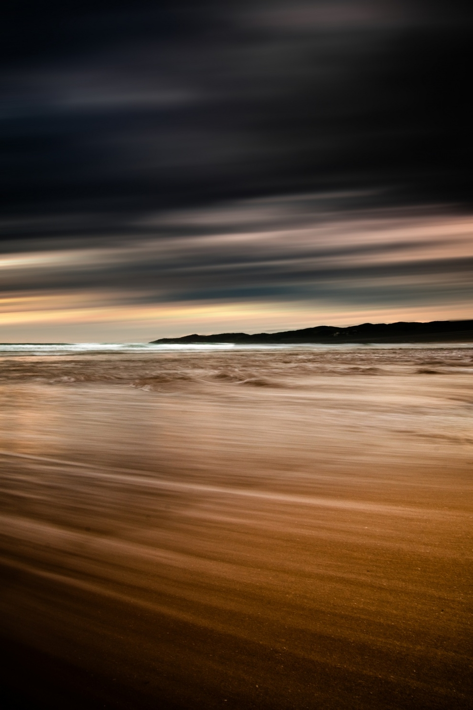 Moody long exposure at Putsborough in North Devon by Josh Exell.