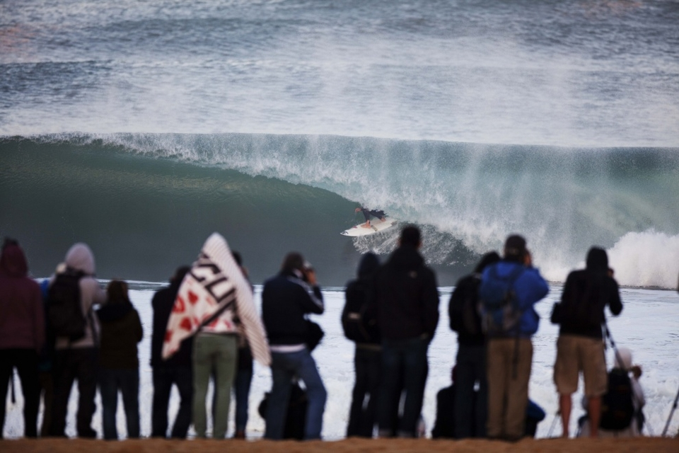 Reynolds was a standout from the opening round of the Quiksilver Pro France, consistently posting high scores and wowing the masses with his tube-riding prowess. Unfortunately for Reynolds, conditions did not cooperate in the Final against Slater.
